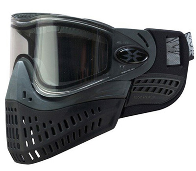 Paintball masks over glasses