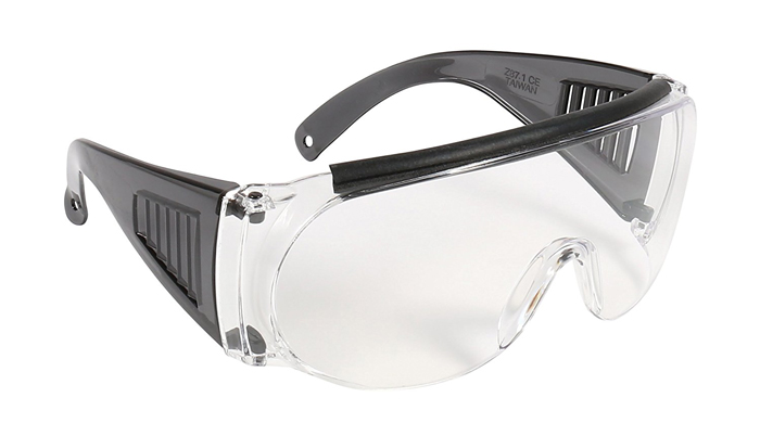 shooting glasses that fit over eyeglasses
