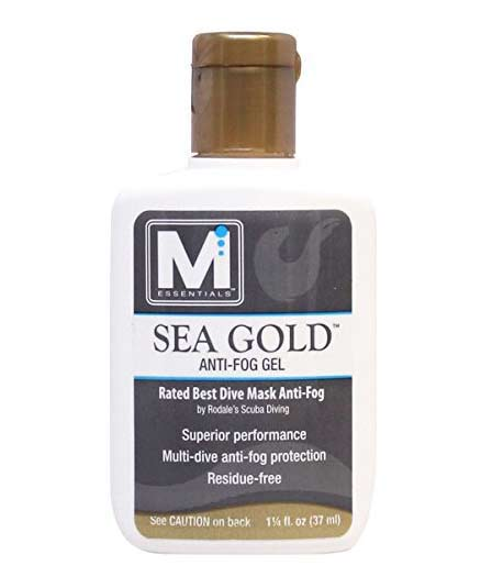 Sea gold scuba mask anti-fog spray