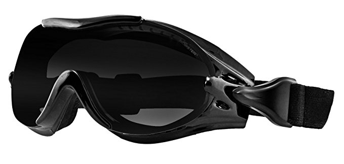 Bobster Pheonix motorcycle goggles to wear over glasses