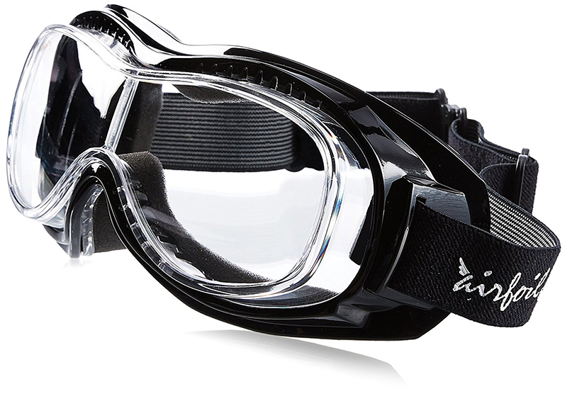 Pacific Coast riding goggles for people with glasses