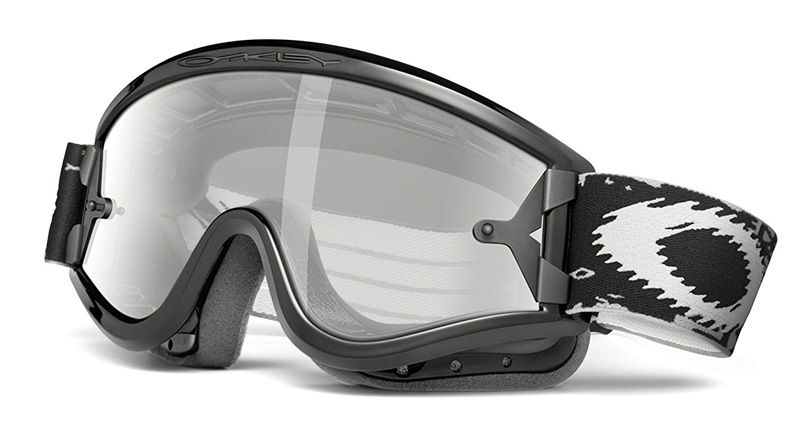 oakley over the glass motocross goggles