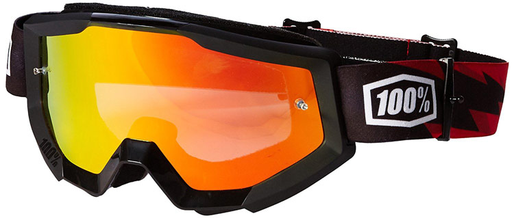 100 percent strata goggles for motocross