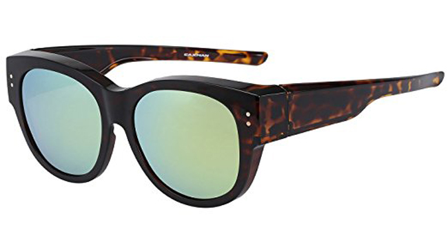 CAXMAN Oversized Lens Cover Sunglasses