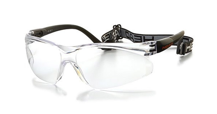 Head racquetball basketball glasses