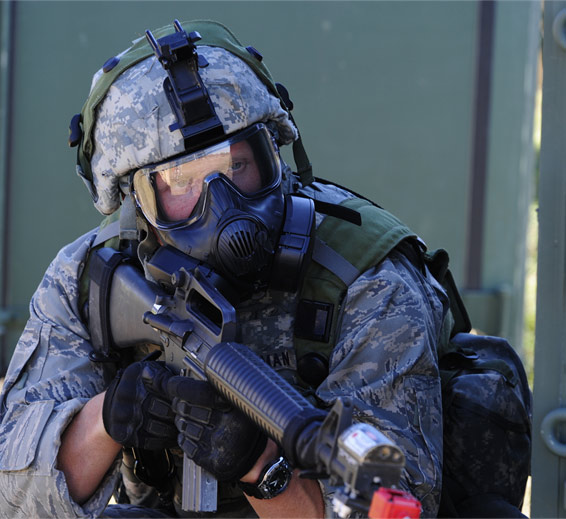 airsoft mask and goggles