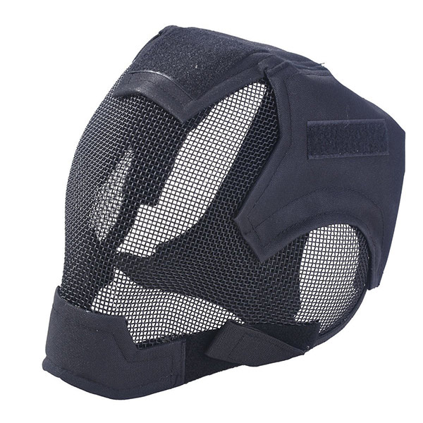 Full mesh airsoft facemask