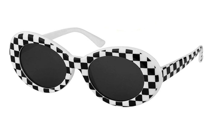 checkered clout goggles