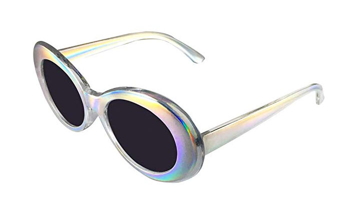 holographic clout glasses