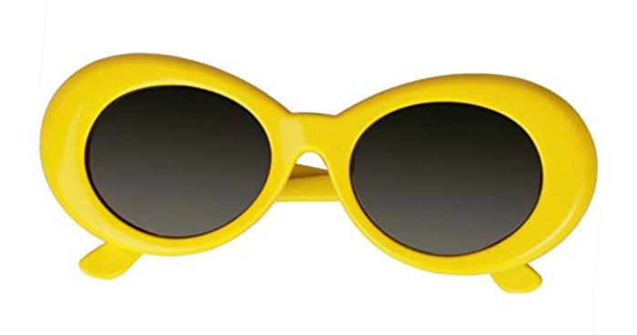 Clout goggles in yellow